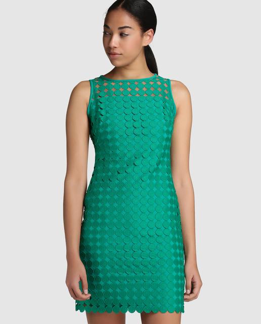 El Corte Inglés - Vestido corto de crochet Ralph Lauren
