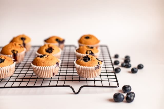 Keto-blueberry-muffins-done